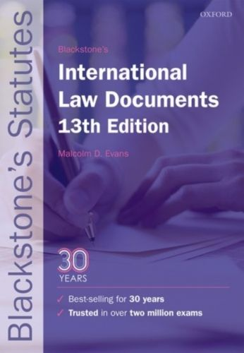 9780198802747 image Blackstone's International Law Documents