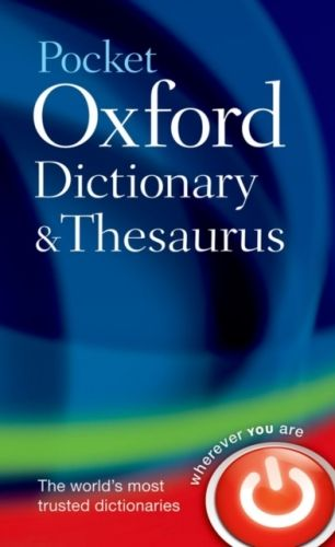 9780199532865 image Pocket Oxford Dictionary and Thesaurus
