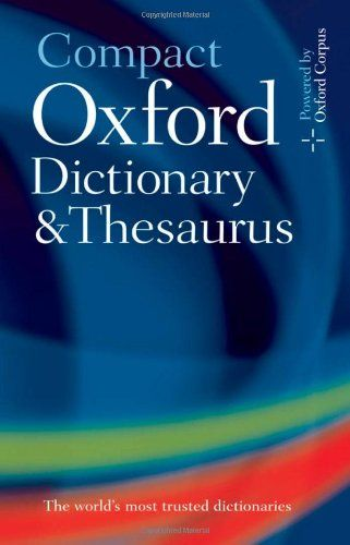 Compact Oxford Dictionary & Thesaurus