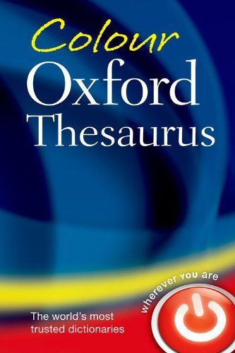 9780199607921 image Colour Oxford Thesaurus