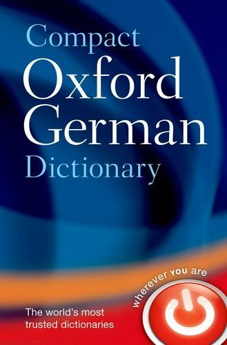 9780199663125 image Compact Oxford German Dictionary