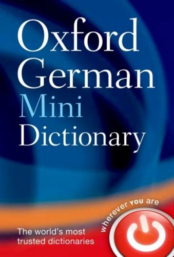 9780199692668 image Oxford German Mini Dictionary