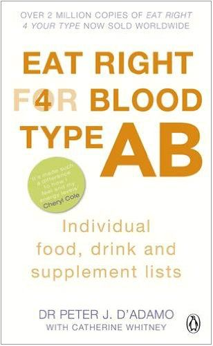 9780241954393 image Eat Right for Blood Type AB