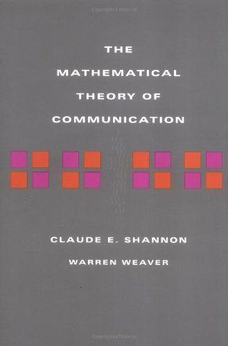 Mathematical Theory of Communication