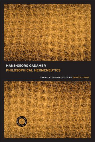 Philosophical Hermeneutics, 30th Anniversary Edition