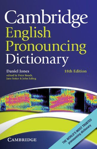 9780521765756 image Cambridge English Pronouncing Dictionary