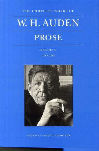 Complete Works of W. H. Auden, Volume V