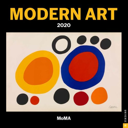 Modern Art 2020 Mini Wall Calendar