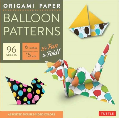 9780804846356 image Origami Paper - Balloon Patterns