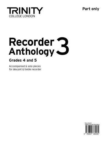 9780857362995 image Recorder Anthology 3 Grades 4-5 (part)