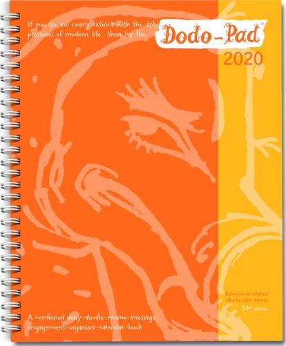 Dodo Pad Original Desk Diary 2020 - Week to View Calendar Year Diary