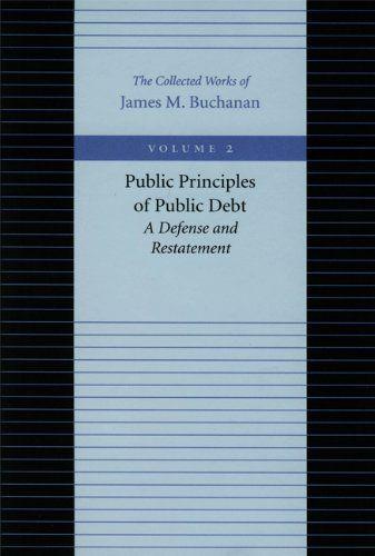 9780865972155 image Public Principles of Public Debt