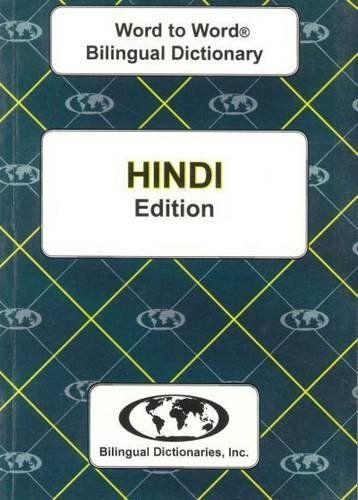 9780933146310 image English-Hindi & Hindi-English Word-to-Word Dictionary