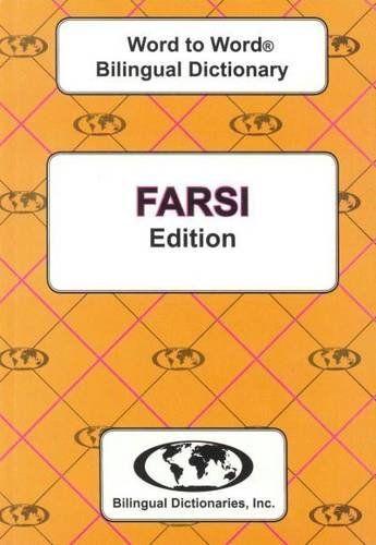 9780933146334 image English-Farsi & Farsi-English Word-to-Word Dictionary