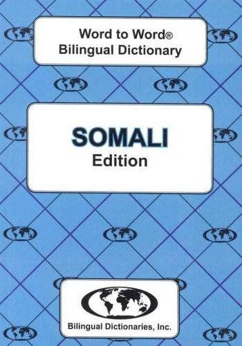 9780933146525 image English-Somali & Somali-English Word-to-Word Dictionary