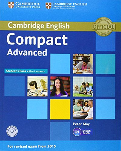 9781107418080 image Compact Advanced Student's Book without Answers with CD-ROM