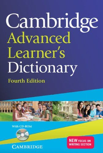 9781107674479 image Cambridge Advanced Learner's Dictionary with CD-ROM