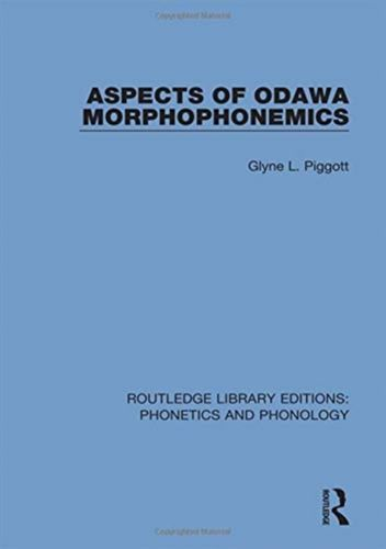 Aspects of Odawa Morphophonemics