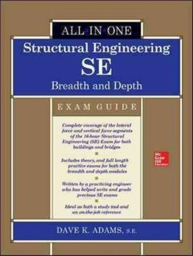 9781259641039 image Structural Engineering SE All-in-One Exam Guide: Breadth and Depth