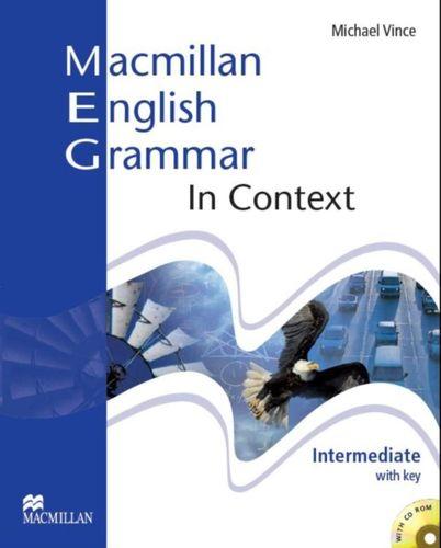 9781405071437 image Macmillan English Grammar In Context Intermediate Pack with Key