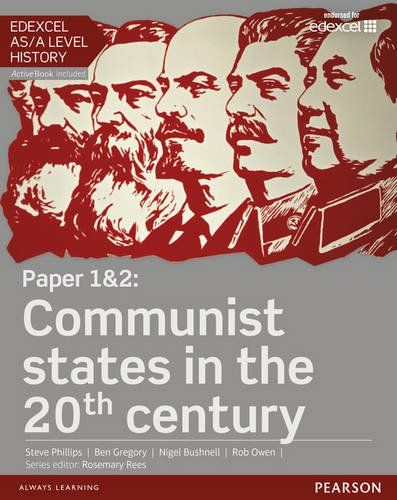 Edexcel AS/A Level History, Paper 1&2: Communist states in the 20th century Student Book + ActiveBook