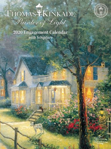 Thomas Kinkade Painter of Light with Scripture 2020 Diary