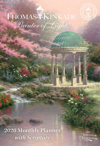 Thomas Kinkade Painter of Light with Scripture 2020 Monthly Pocket Planner
