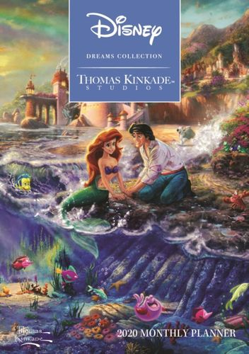 Thomas Kinkade Studios: Disney Dreams Collection 2020 Monthly Pocket Planner