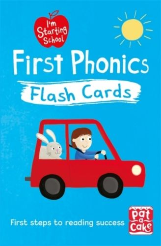 9781526380128 image I'm Starting School: First Phonics Flash Cards
