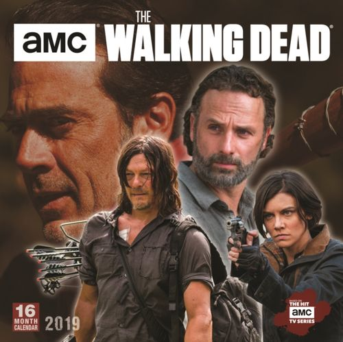 Walking Dead Amc 2019 Square Wall Calendar