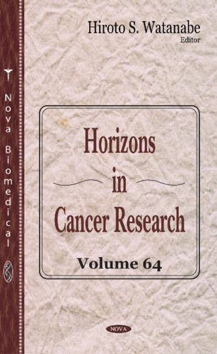 9781536105124 image Horizons in Cancer Research
