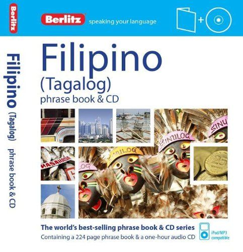 Berlitz Phrase Book & CD Filipino