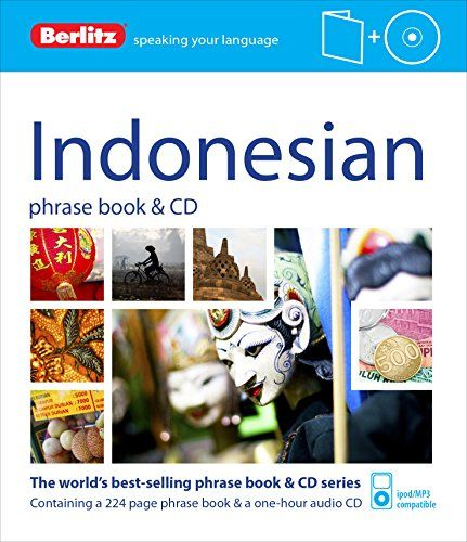 Berlitz Phrase Book & CD Indonesian