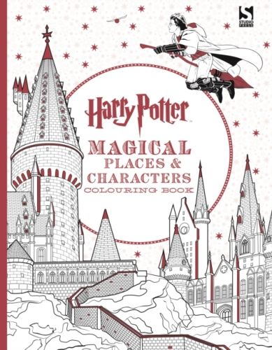 9781783706006 image Harry Potter Magical Places and Characters Colouring Book