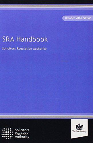 9781784460167 image SRA Handbook