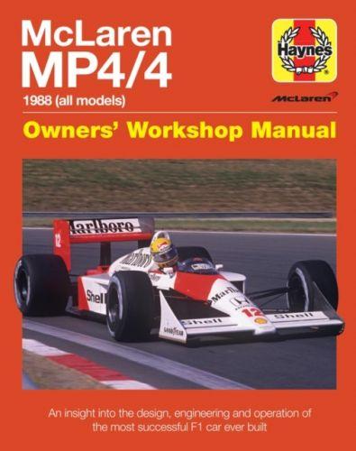 Mclaren Mp4/4 Owners' Workshop Manual