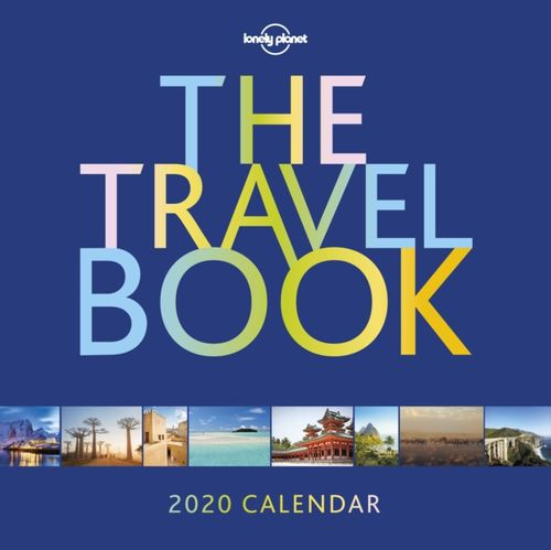 Travel Book Calendar 2020