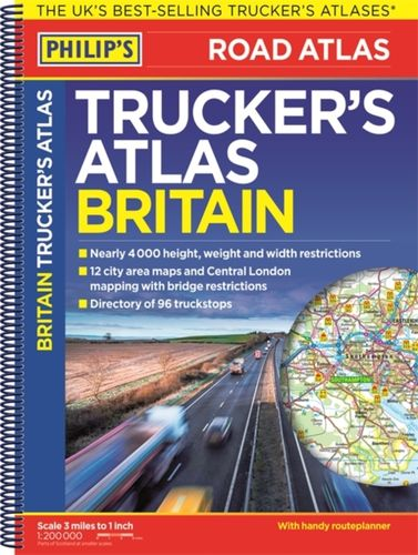 Philip's 2018 Trucker's Atlas Britain