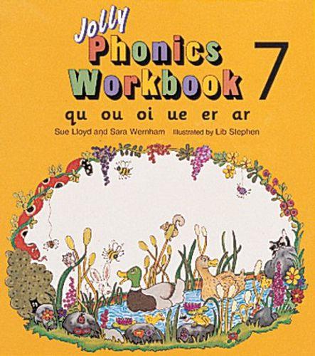 9781870946575 image Jolly Phonics Workbook 7
