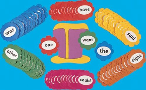 9781903619117 image Jolly Phonics Tricky Word Wall Flowers