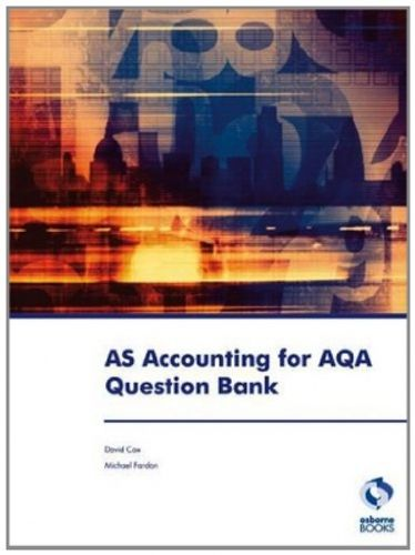 9781905777938 image AS Accounting for AQA Question Bank