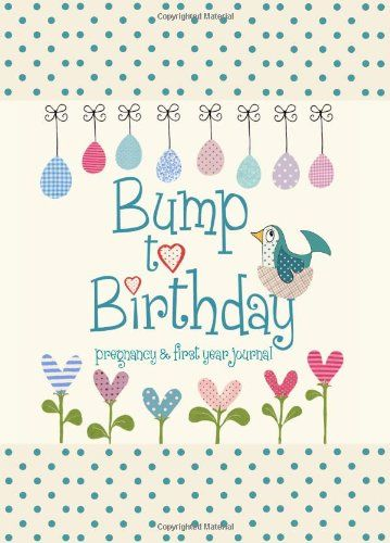 Bump to Birthday, Pregnancy & First Year Journal