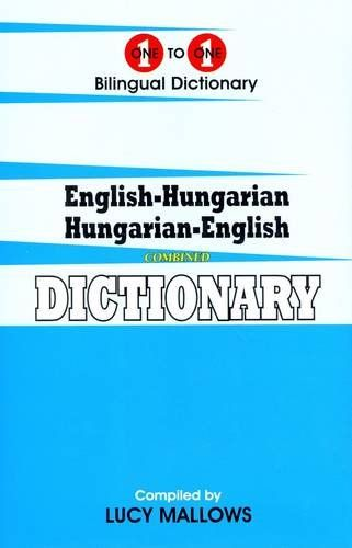 English-Hungarian & Hungarian-English One-to-One Dictionary