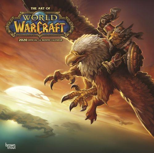 World of Warcraft 2020 Square Wall Calendar