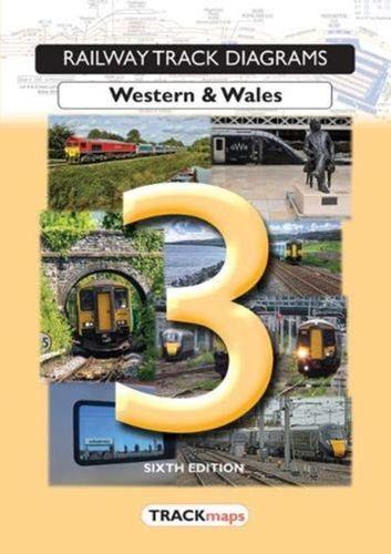 Railway Track Diagrams Book 3, Western & Wales