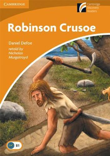 9788483235515 image Robinson Crusoe Level 4 Intermediate American English