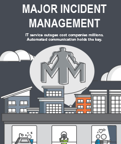 Infographic: Major Incident Management Communications