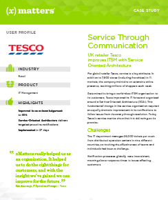 Service Through Communication – Tesco Case Study