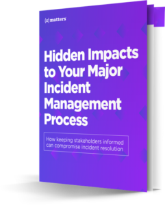 Read survey results: how stakeholder communication affects major incident management