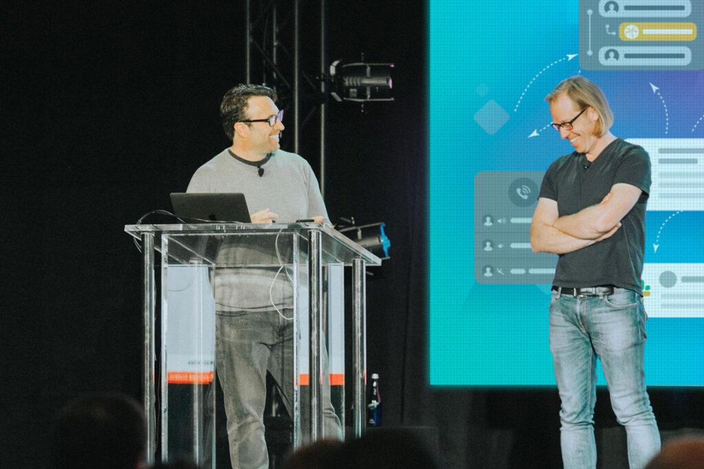 Doug Peete, Chief Product Officer, and Tobias Dunn-Krahn, CTO, xMatters
